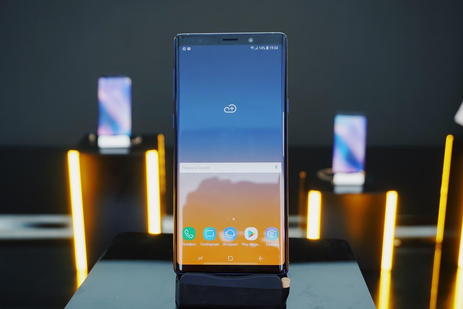 За что стоит полюбить Samsung Galaxy Note 9?