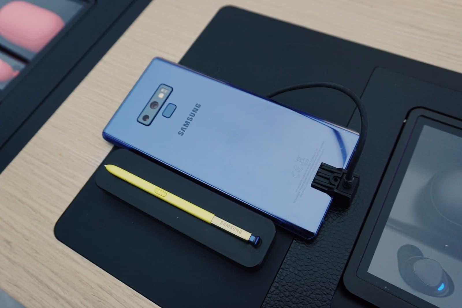 Память Galaxy Note 9