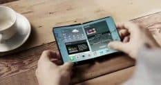Samsung: складной смартфон и четыре камеры