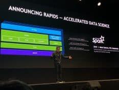 NVIDIA представила платформу для аналитики данных и машинного обучения