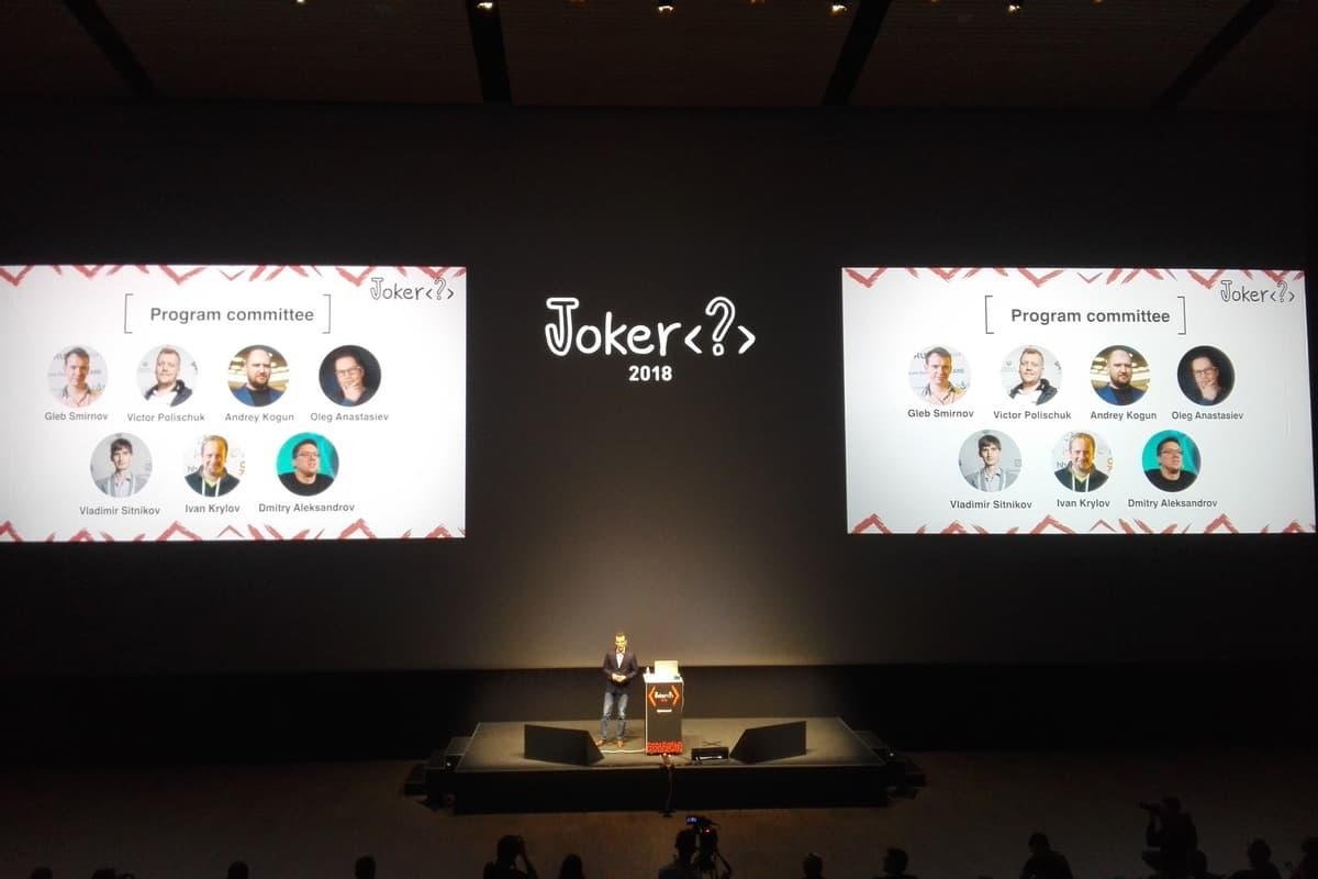 В Санкт-Петербурге прошло одно из главных Java-мероприятий России – Joker 2018