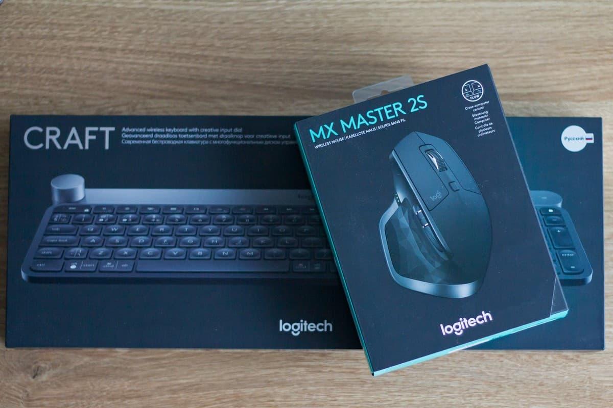 Обзор клавиатуры Logitech Craft и мыши MX Master 2S