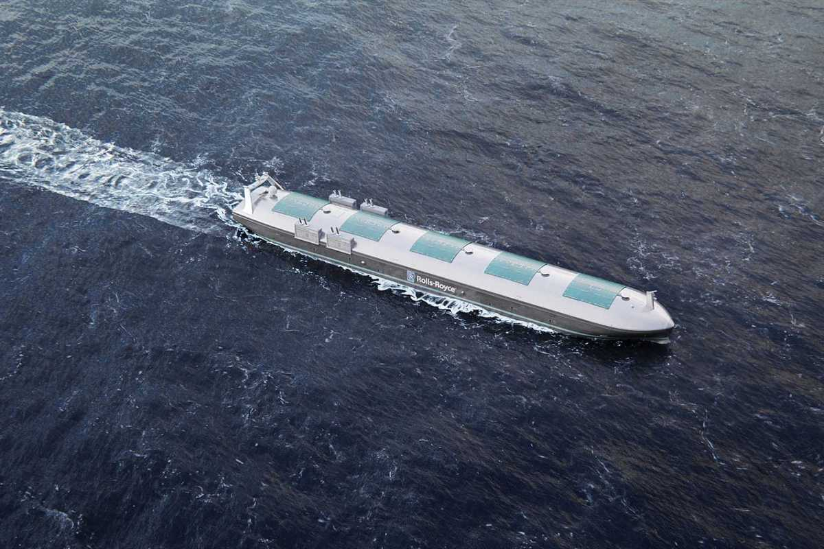 Беспилотные корабли по версии Rolls-Royce