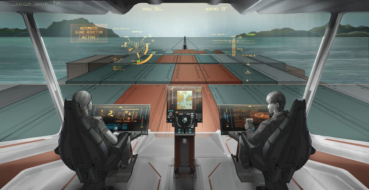От продвинутых навигационных систем к беспилотным кораблям. Фото: Rolls-Royce plc / www.flickr.com