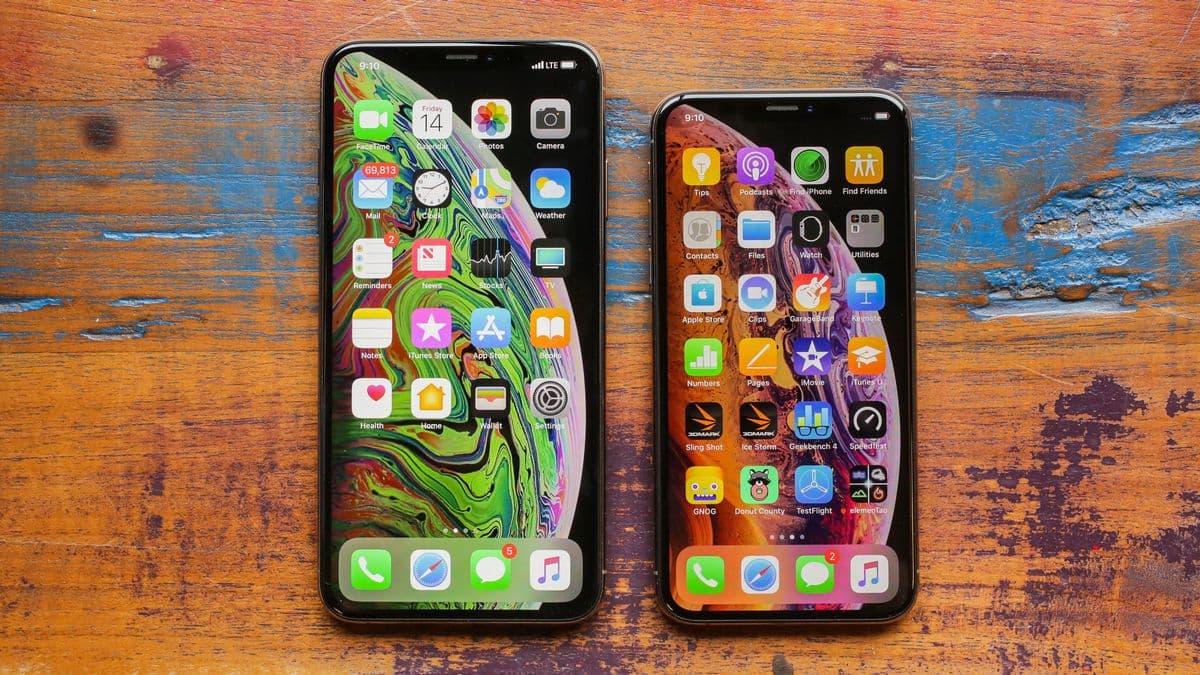 iPhone XS Max и iPhone XS