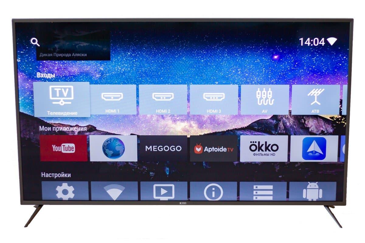 Обзор 4K UHD телевизора KIVI 55UK30S