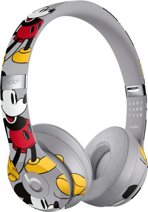 Mickey Mouse 90th Anniversary Edition Beats Solo3