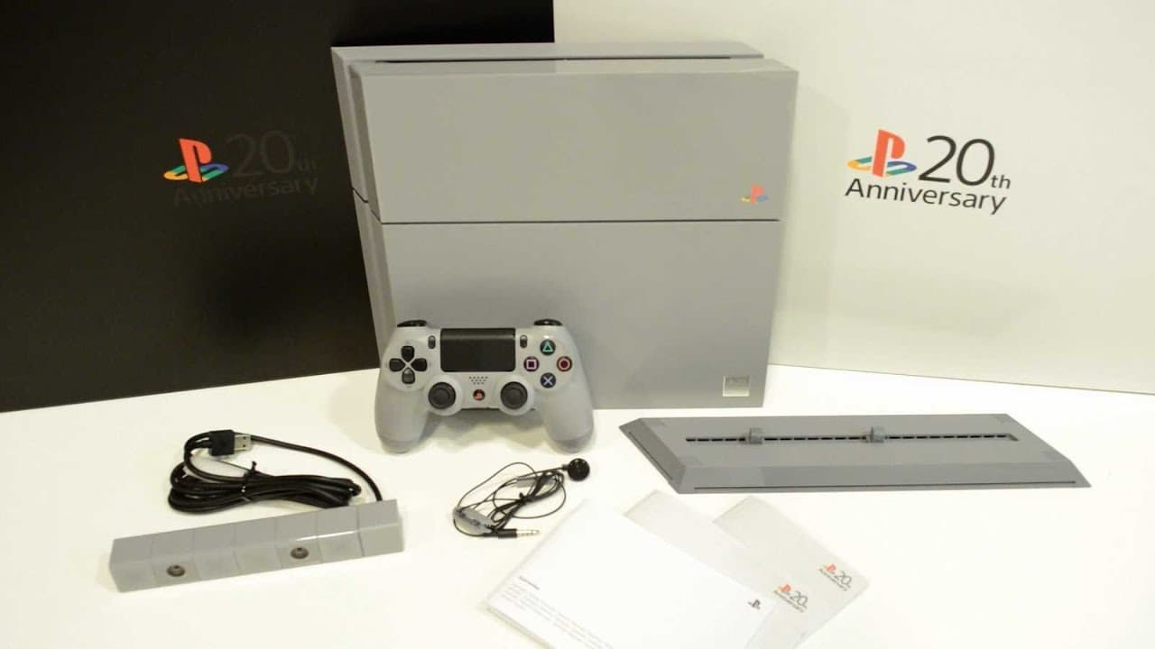 PlayStation 4: 20th Anniversary Edition