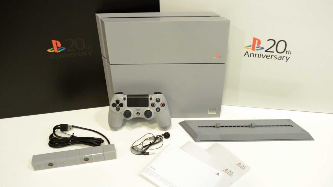 PlayStation 4: 20th Anniversary Edition