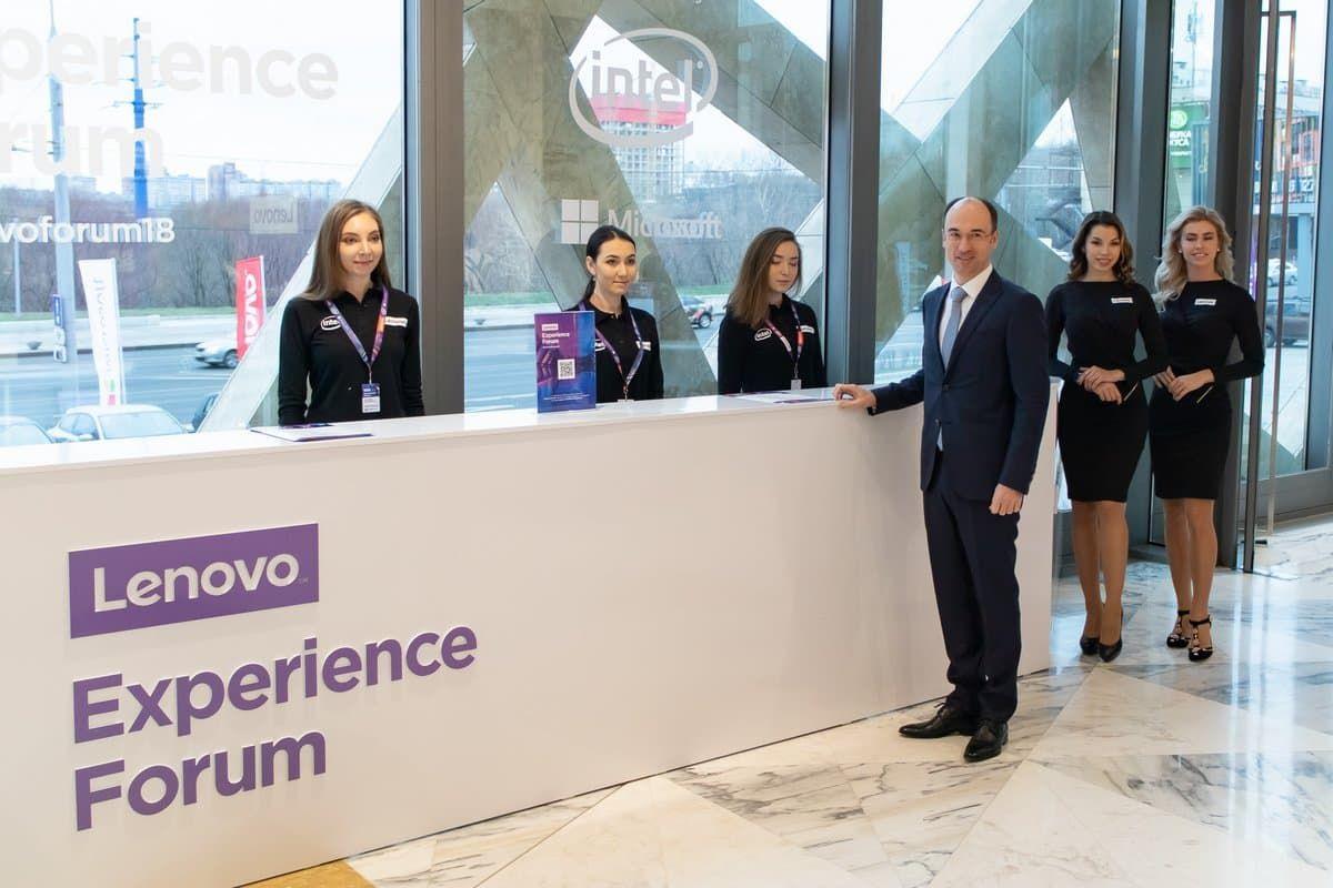 генеральный менеджер Lenovo по Восточной Европе Сергей Плаксин