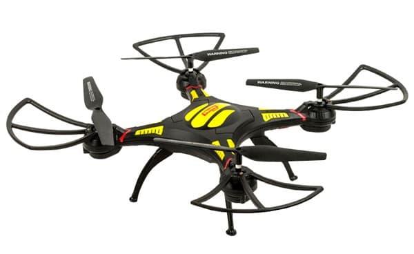 Радиоуправляемый квадрокоптер Mioshi 3D Макси-дрон-27, 27,5 см (MTE1209-027): 4 400 рублей