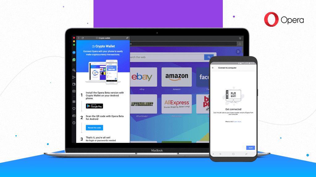 Opera запустила браузер для децентрализованных сетей
