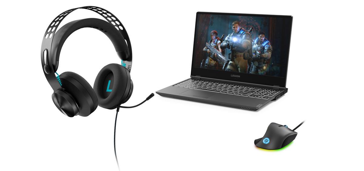 Стереофонические наушники Lenovo Legion H300 и наушники с объёмным звучанием H500 Pro 7.1 для полного погружения в игровой процесс