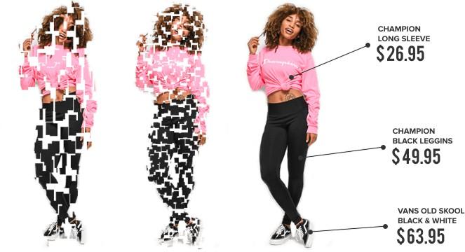 Система распознавания образов ИскИна Sarafan «разбирает» картинку так, что выделяет предметы одежды и находит их поставщиков в электронной торговле