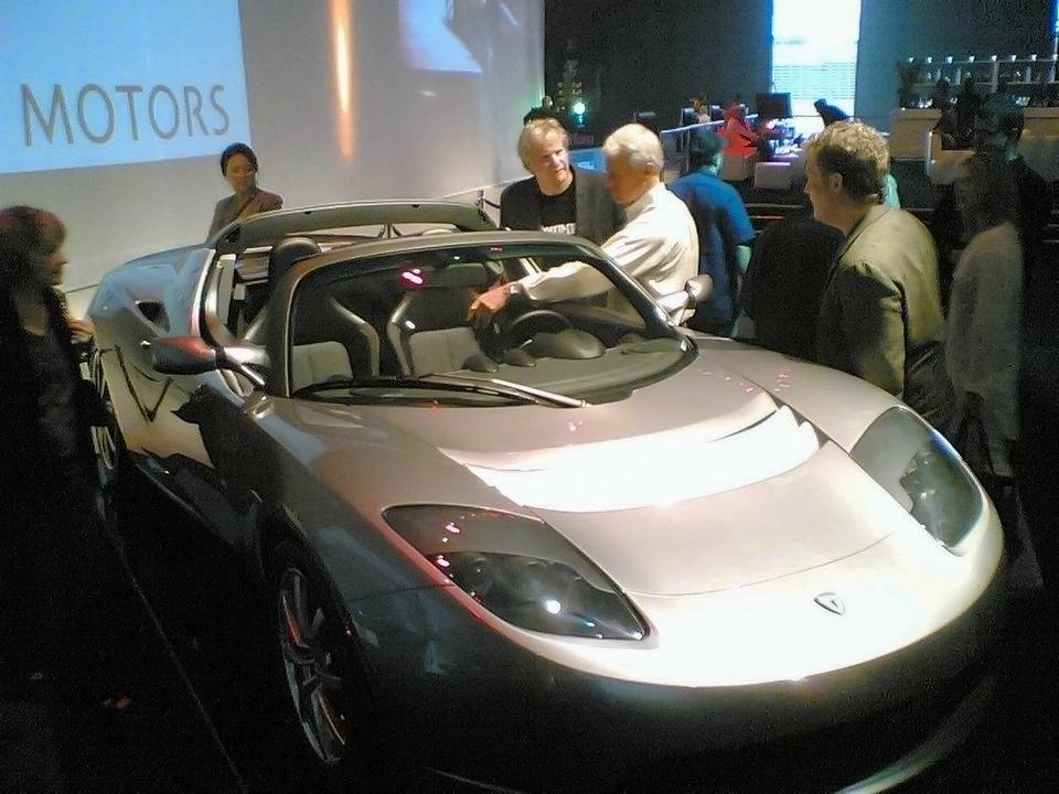 Презентация Tesla Roadster