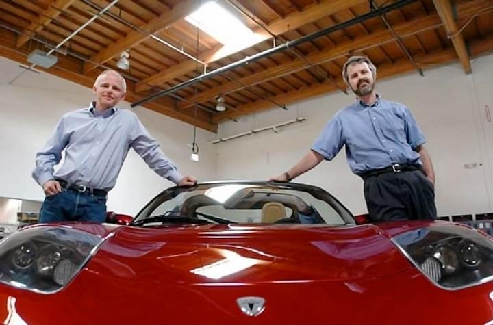 Настоящие основатели Tesla Motors