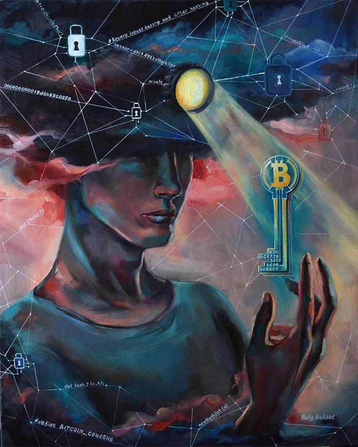 Криптоарт – синтез искусства и криптовалют