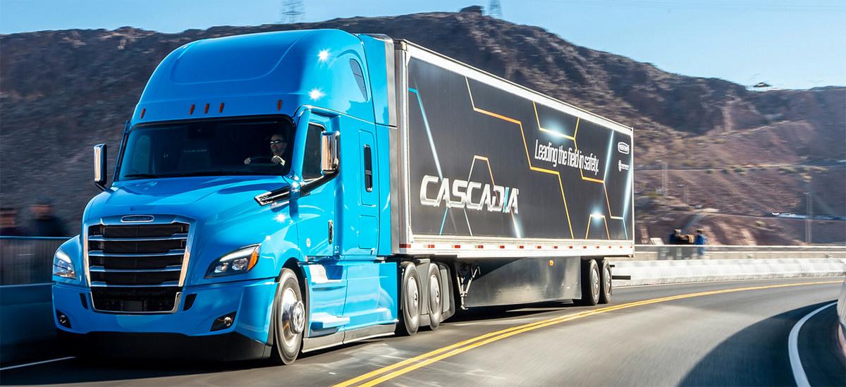Беспилотный грузовик от Daimler
