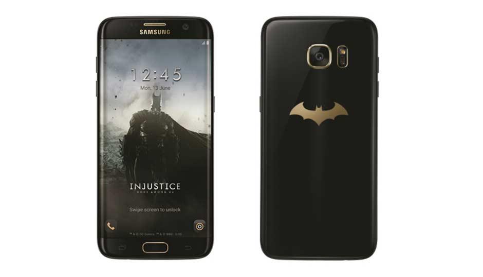 Телефон Бэтмена - Galaxy S7 Edge