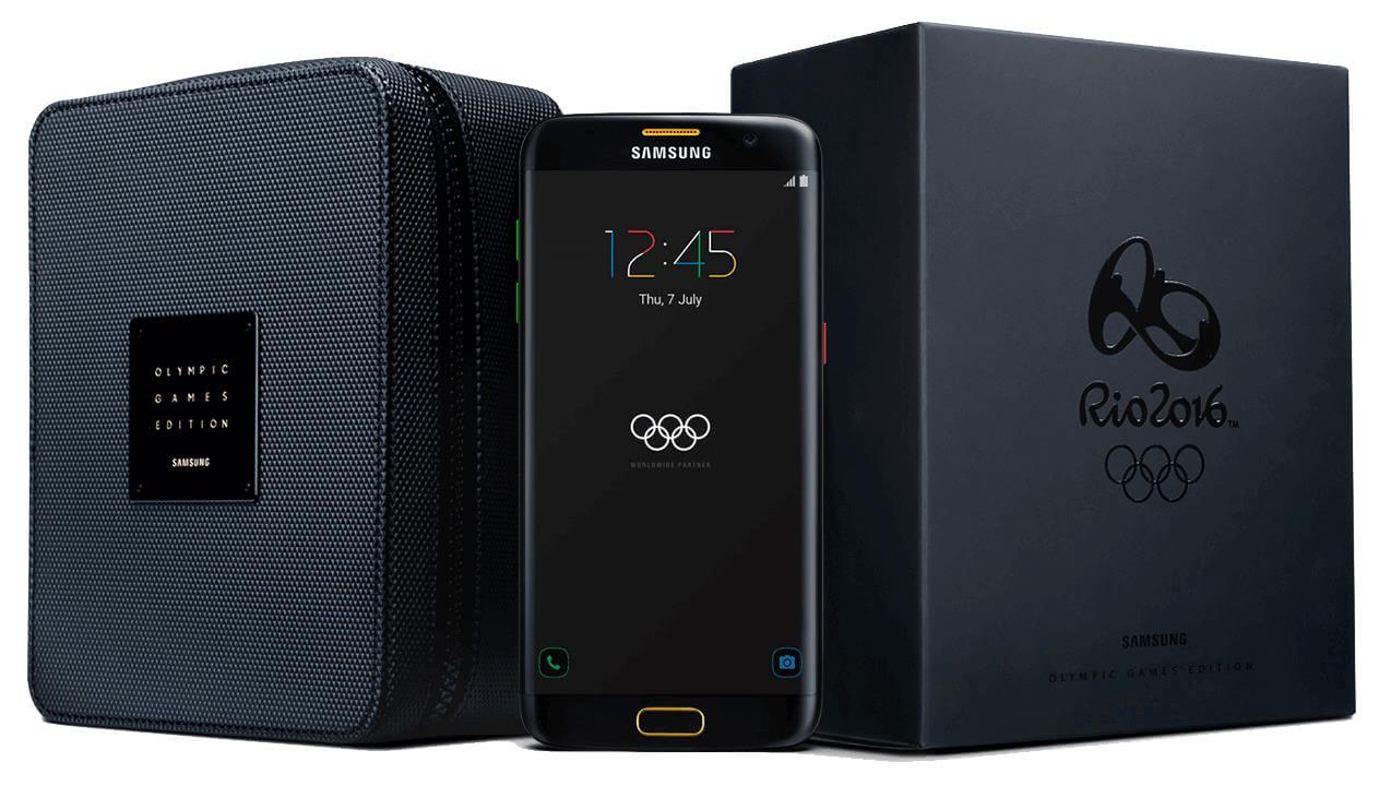 S7 Edge Olympic Edition