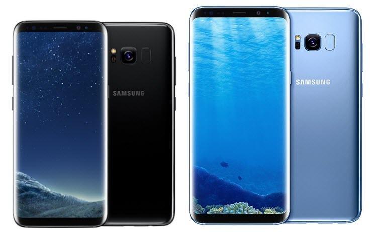 Теперь все изогнутые - Galaxy S8 и S8 Plus