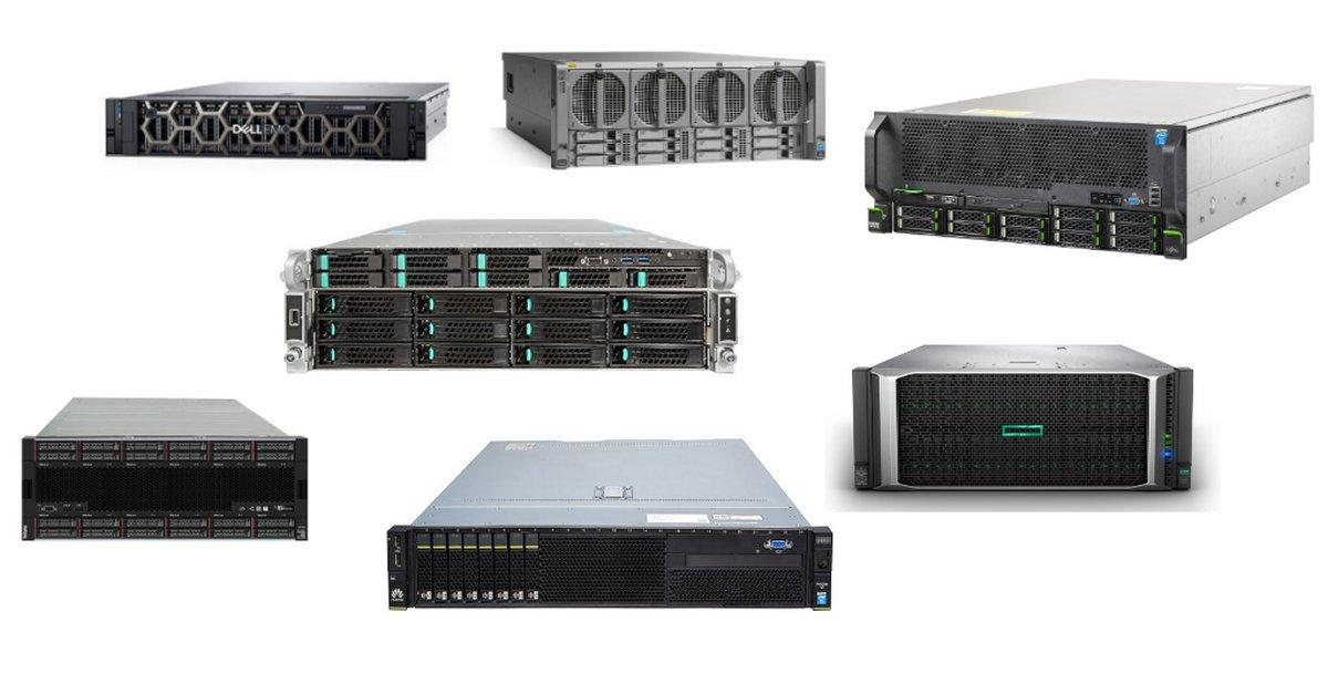 Между «башней» и «лезвием»: обзор популярных линеек стоечных серверов