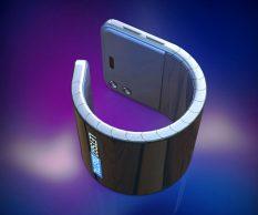 Samsung разрабатывает смартфон-браслет