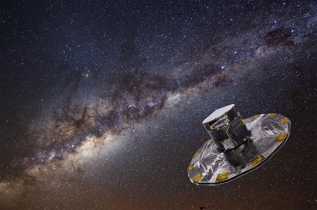 К услугам Гражданских ученых весь массив данных, полученных космическим телескопом Gaia ценой в 740000000 евро