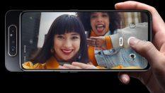 Samsung Galaxy A80 оснащен поворотной камерой