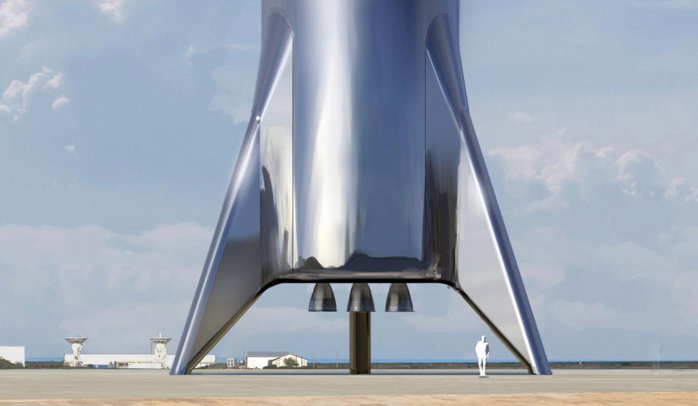 SpaceX провела первый запуск тестового корабля Starhopper