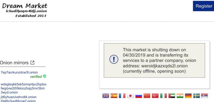 С чем связано закрытие крупнейшего рынка даркнета