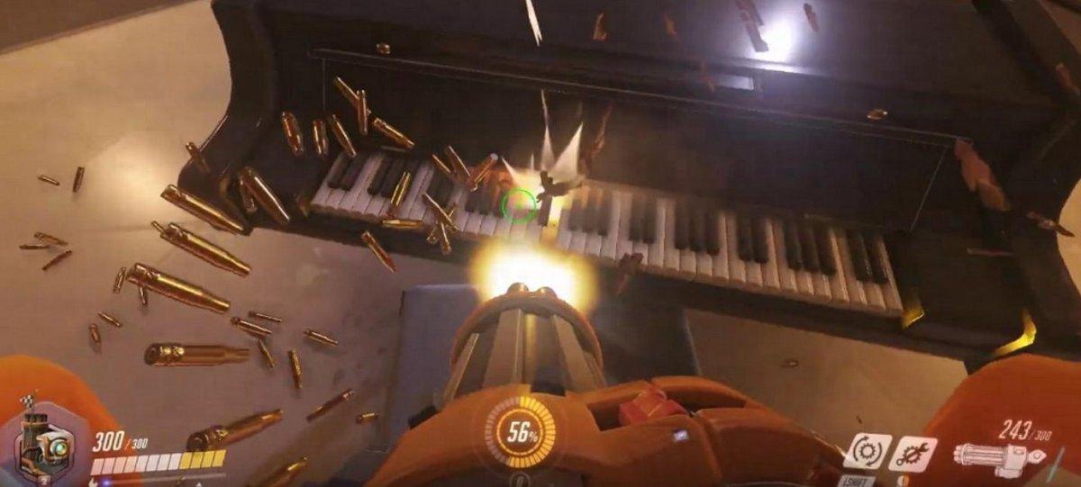 пианино в Overwatch