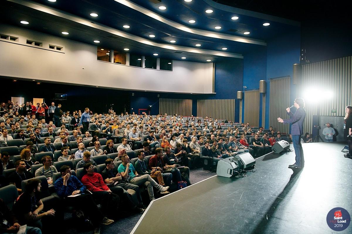 8 и 9 апреля в Санкт-Петербурге проводится конференция  Saint HighLoad++  и это эпично