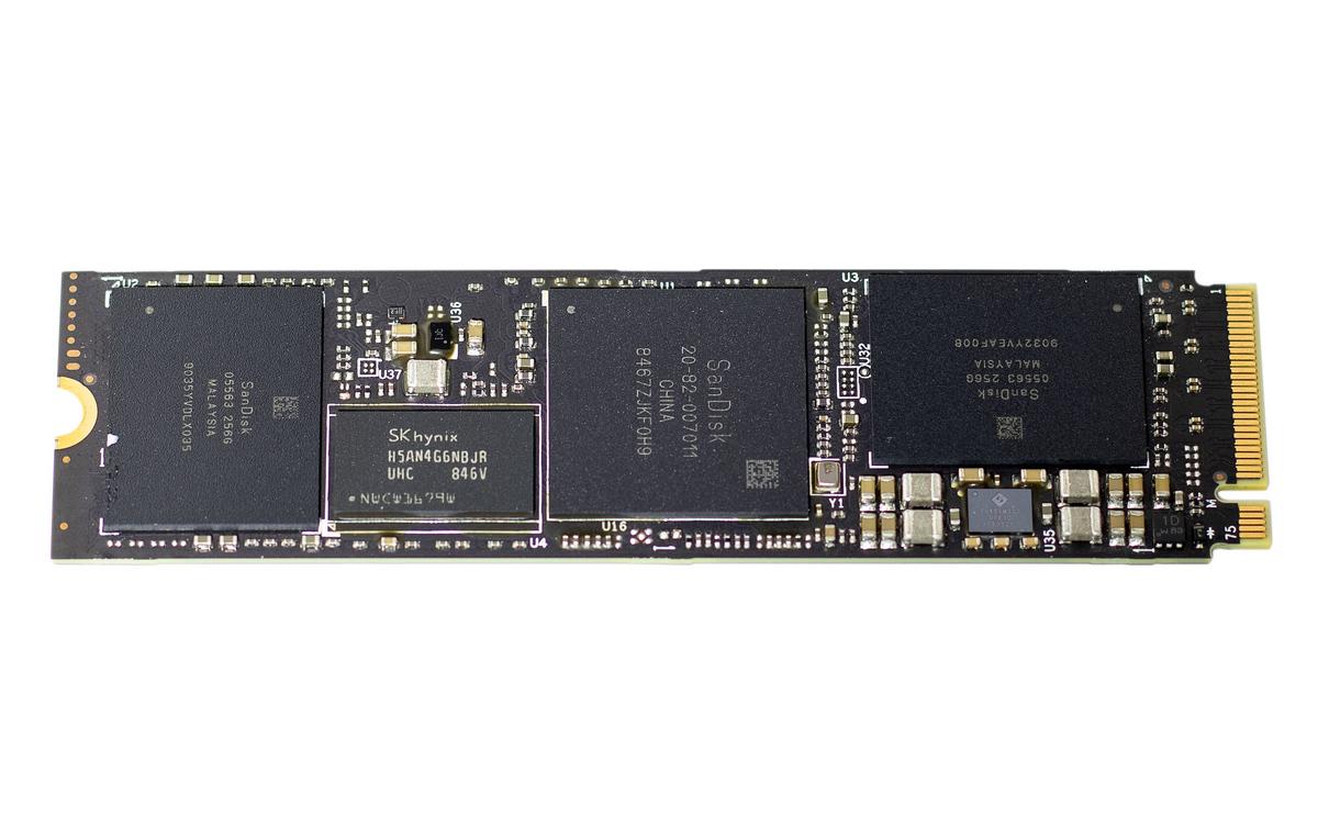 Обнажённый SSD WDS500G3X0C