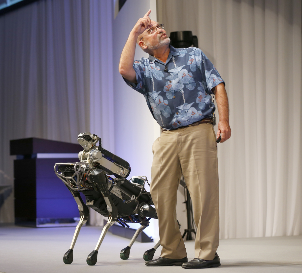 Эволюция роботов от Boston Dynamics