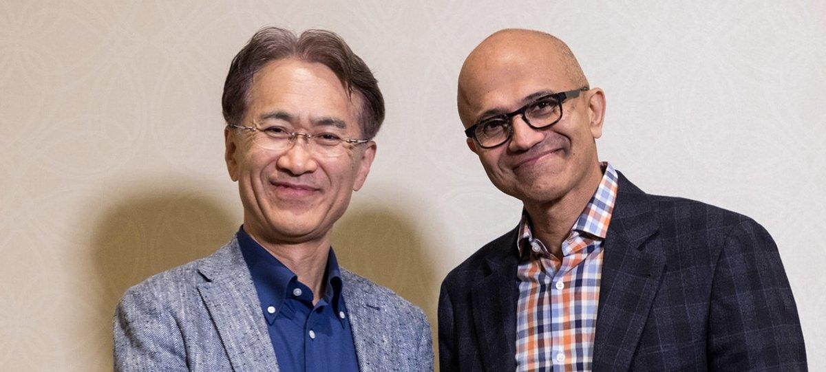 Sony и Microsoft объявили о начала сотрудничества