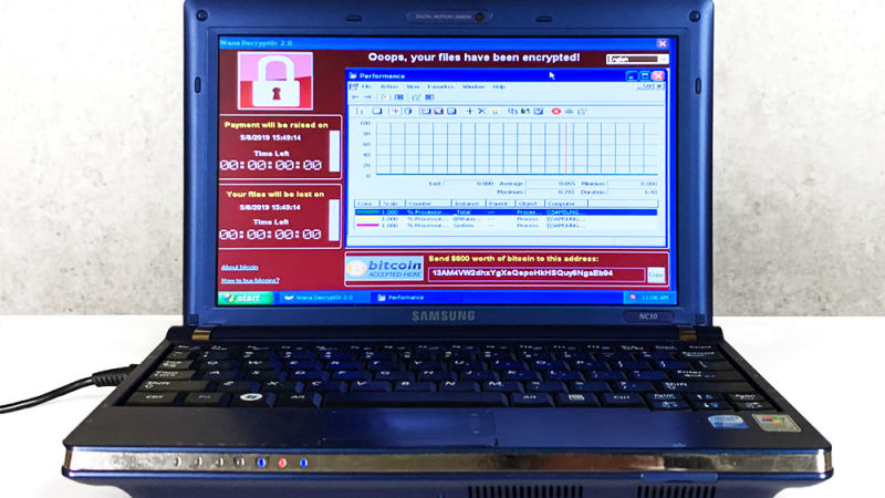 Инфицированный шестью самыми опасными вирусами ноутбук продан за $1,3 млн.