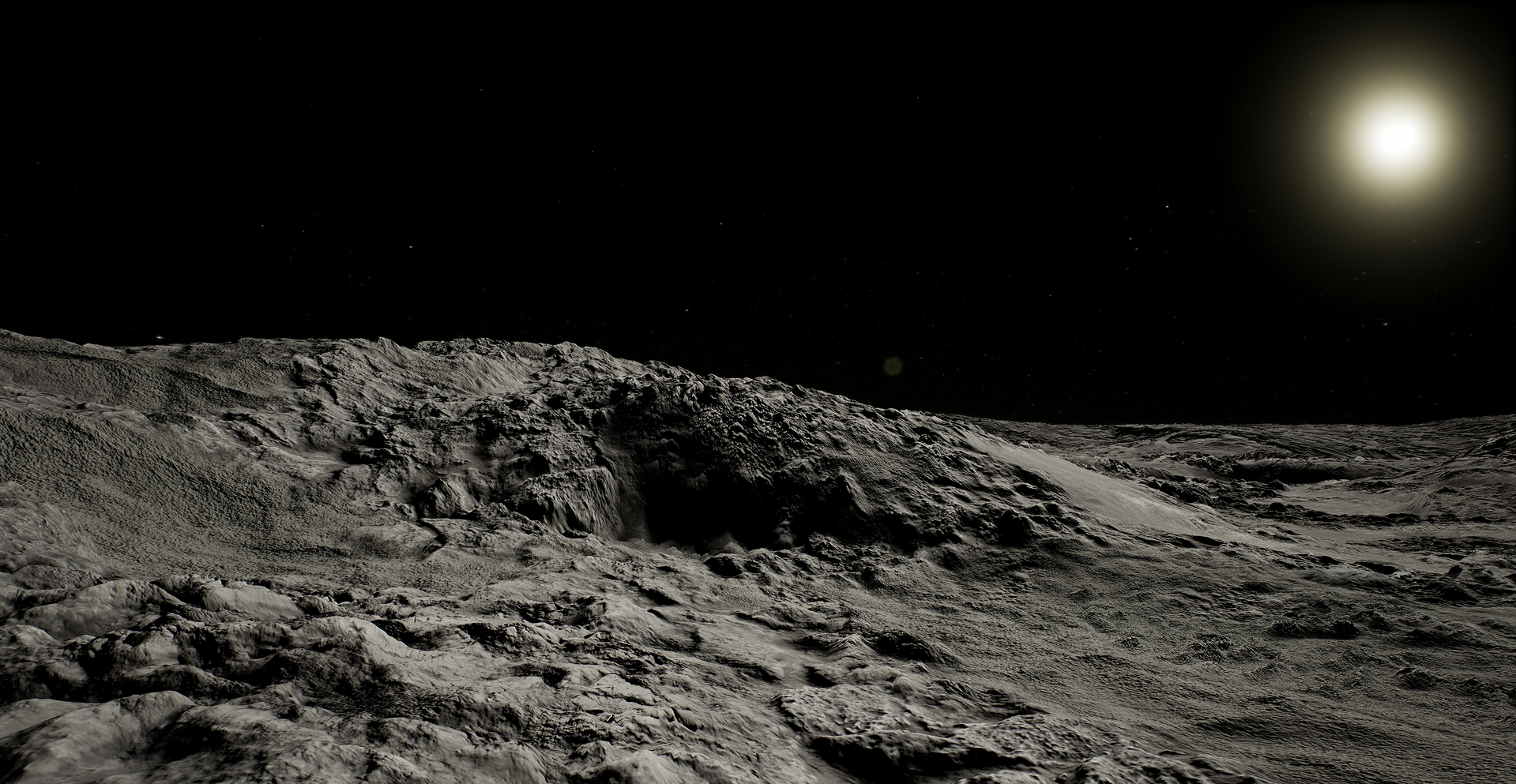 Исследование: на Луне наблюдается геологическая активность