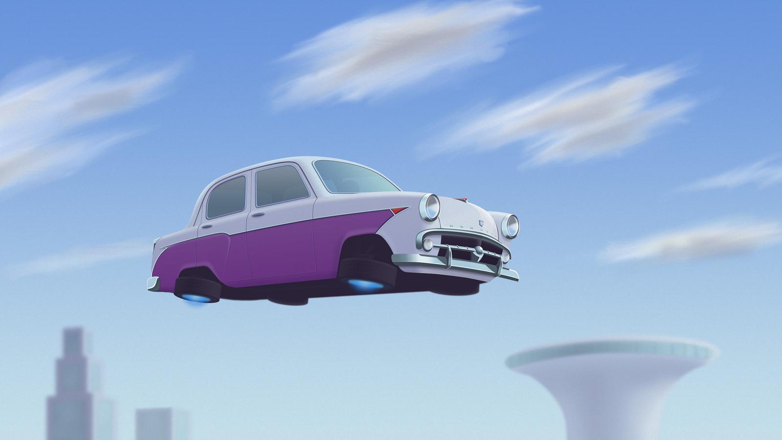 Современные летающие автомобили и их будущее