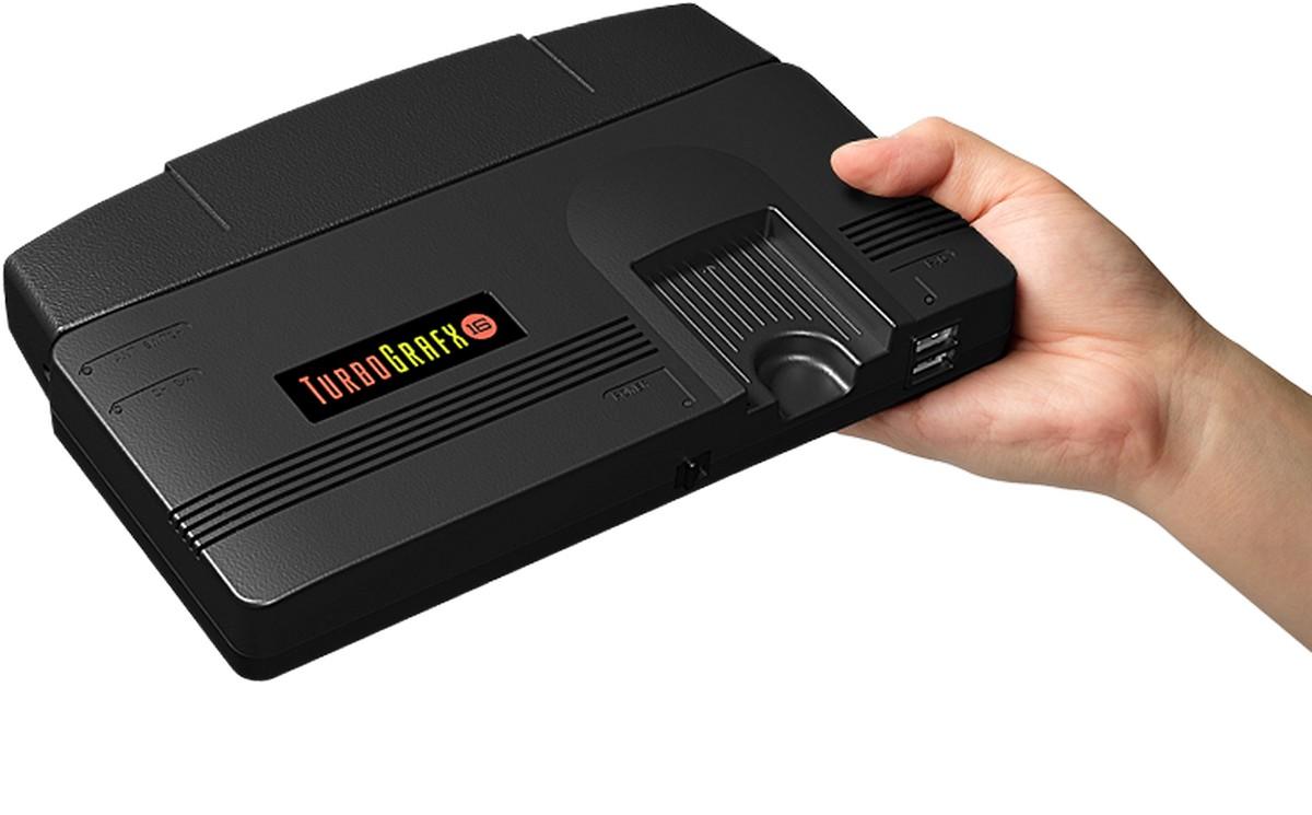 Konami анонсировала выпуск ретро-консоли TurboGrafx-16 Mini