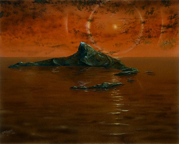 НАСА отправит дрон на Титан