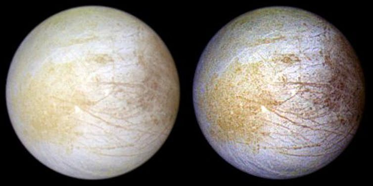 Существует ли жизнь на спутнике Юпитера? Обнаружение поваренной соли вселяет надежду