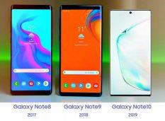 Samsung Galaxy Note10 5G оснастят 1 ТБ памяти