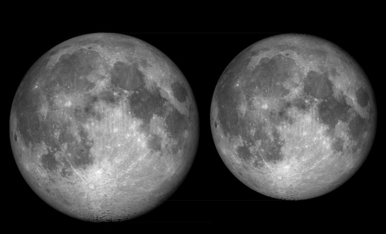 Насколько велика Луна? Попробуем представить…