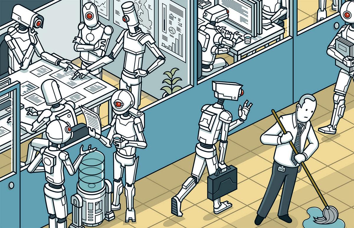 IT –век и новое дворянство: когда робот будет работать вместо меня? (спойлер: уже работает)