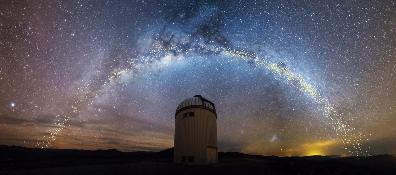 Она не плоская: ученые создали новую 3D-модель Млечного пути