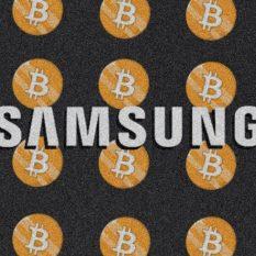Samsung добавляет поддержку биткоина