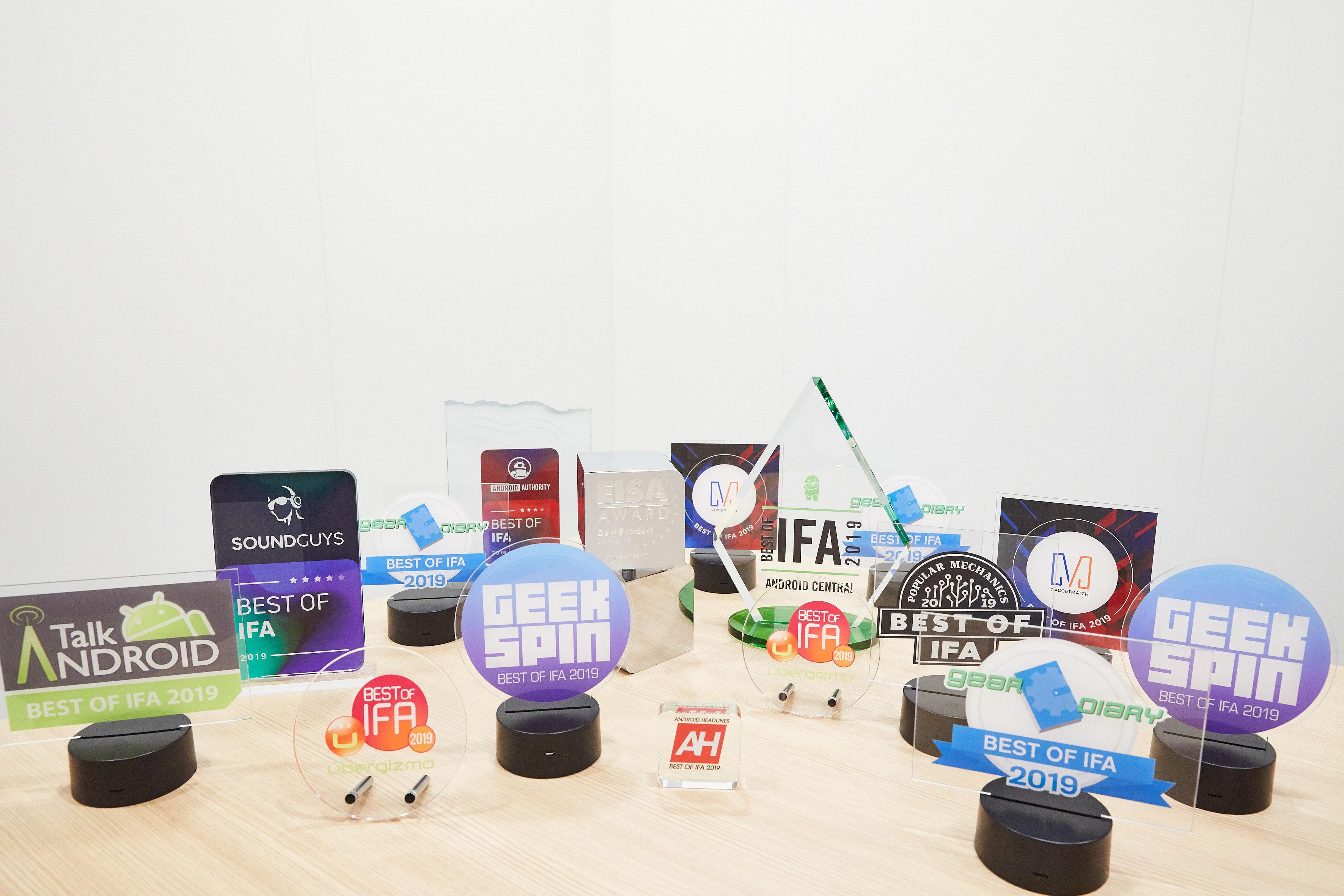 HUAWEI получила более двадцати наград на международной выставке IFA-2019