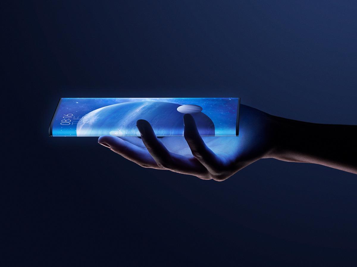 Xiaomi показала невидимый смартфон