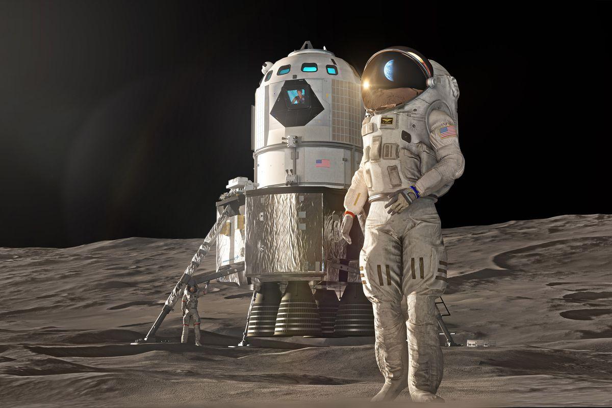 Строительство баз на Луне